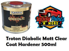 Troton Diabolic Matt Clear Coat Hardener 500ml