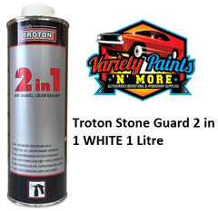 Troton Stone Guard 2 in 1 White 1 Litre