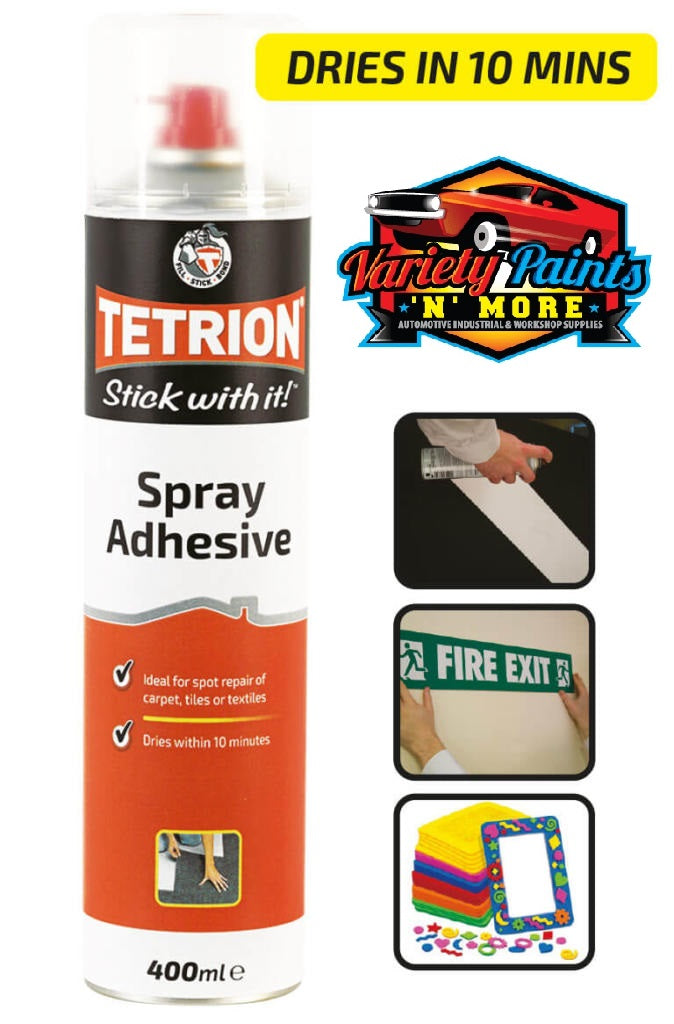 Tetrion Stick With It Spray Adhesive 400ml