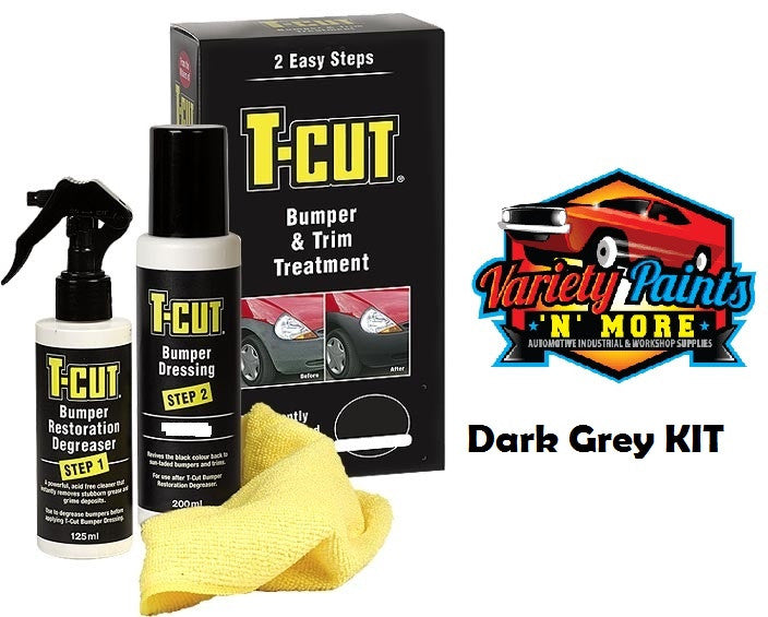 T Cut Bumper & Trim Treatment Kit Dark Grey