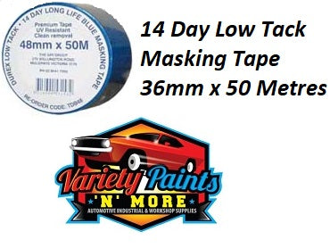 Durex Low Tack 14 Day Blue Masking Tape 36mm
