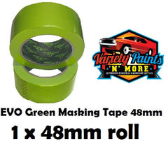 48mm SINGLE BodyworX Evo Green Masking Tape