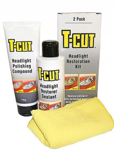 T Cut Headlight Restoration Kit