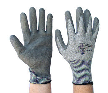 Taeki 5 PU Palm Cut 5 Safety Glove Large Per Pair