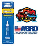 Abro Blue Threadlock Removable Variety Paints