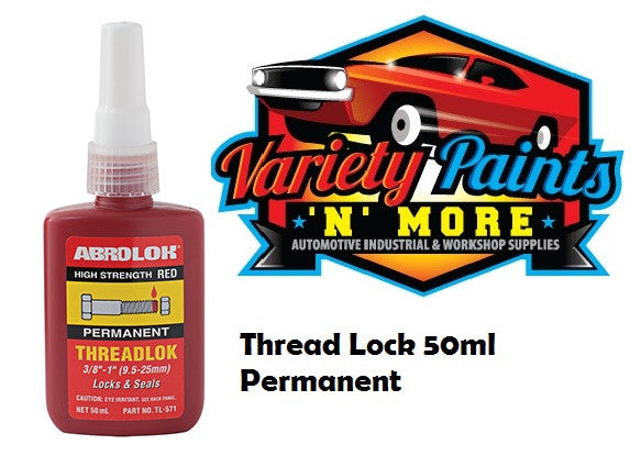 Abro Red Threadlock Removable 50ML