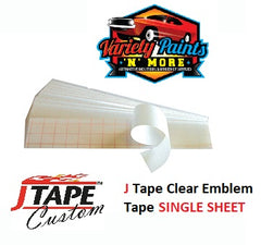 JTape Clear Logo Tape Single