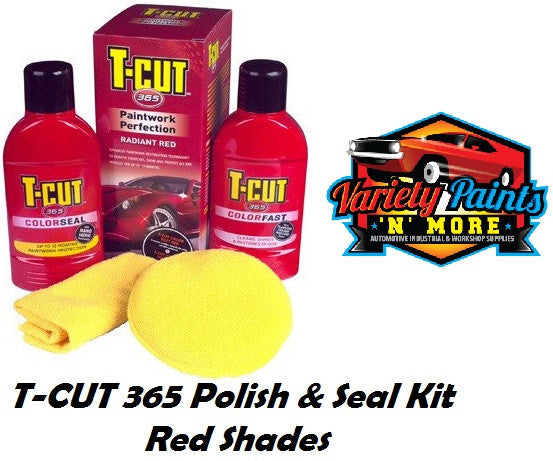 TCut 365 Polish and Seal Kit Radiant Red
