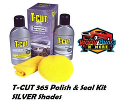 TCut 365 Polish and Seal Kit Sheer Silver Variety Paints N More