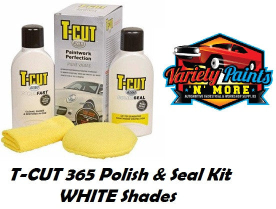 TCut 365 Polish and Seal Kit Pure White