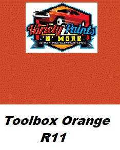 Variety Paints Toolbox Orange R11 Industrial Enamel 4 Litres