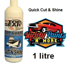 Top Gear Marine Medium Quick Cut N Shine 1 litre