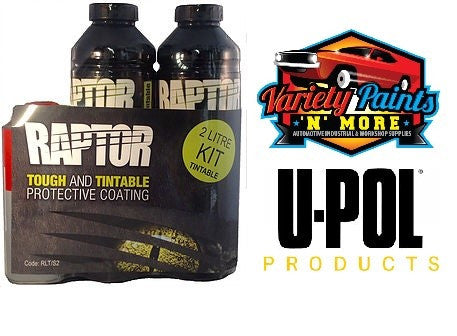 Upol Raptor Bed Liner Kit Black 2 Litre