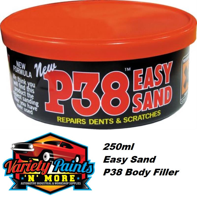 Isopon P38  Super Easy Sanding Lightweight Body Filler 250ML