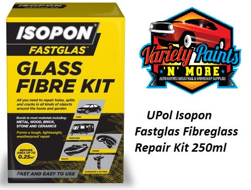 Isopon Fastglas Fibreglass Repair Kit 250ml
