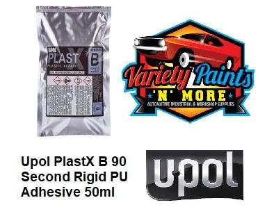 Upol PlastX B 90 Second Rigid PU Adhesive 50ml