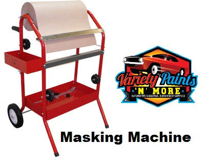 Mobile Masking Machine: 610 x 680 x 900 mm