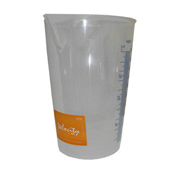Velocity 1 Litre Plastic Jug with Handle