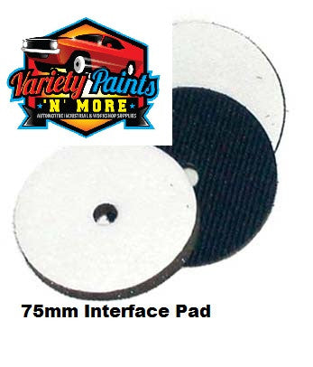 Interface Pad 75mm Velcro Variety Paints N More