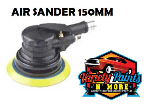 Air Sander 150mm with Velcro Back Pad