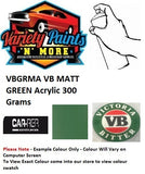 VB Matt Green Acrylic Spray Paint 300g