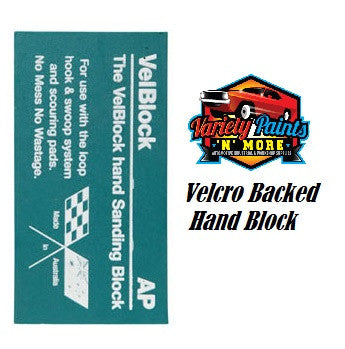 AP Vel Block Velcro Backed Block
