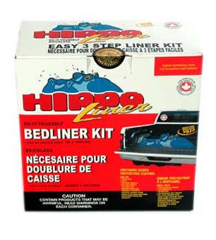 Hippo Black Bed Liner Kit