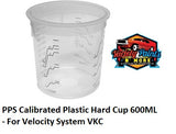 PPS Calibrated Plastic Hard Cup 600ML - For Velocity System