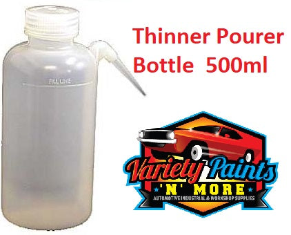 Thinner Pourer Bottle 500ML