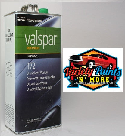 Valspar Thinner Medium 172HP 1 Gallon 3.78 Litres