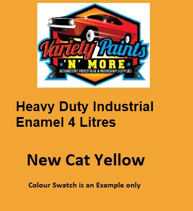 Nason QD Enamel New Caterpillar Yellow 4 Litre