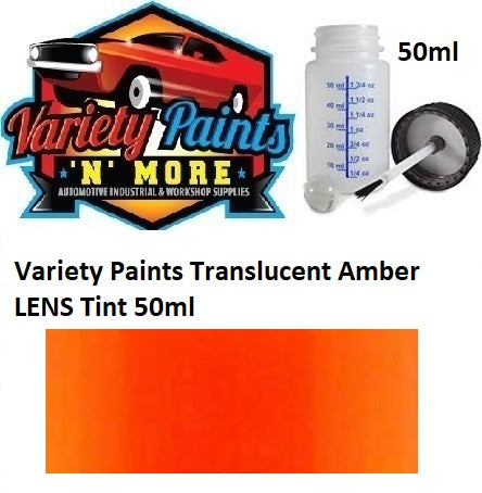Variety Paints Translucent Amber LENS Tint 50ml