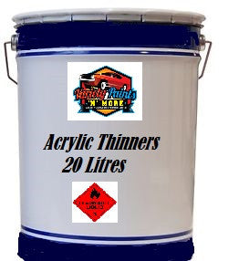 Variety Paints Acrylic Thinners 20 Litre VPAT20 ACLAC20
