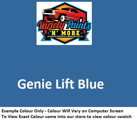Variety Paints Genie Blue Industrial  Spray Paint 300g