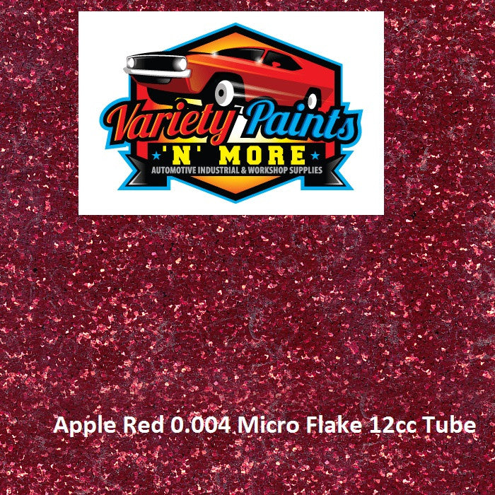 Variety Paints Metal Flakes Apple Red 0.004 Micro 12cc Tube