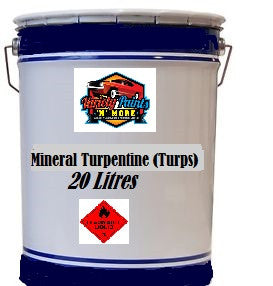 Variety Paints Mineral Turps 20 Litres