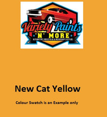 000322 NEW Cat Yellow 2 Lt 510 PU 2K Paint Topcoat DTM