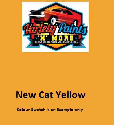 000322 NEW Cat Yellow 4 Lt 510 PU 2K Paint Topcoat DTM PART A