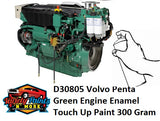D30805 Volvo Penta Green Engine Enamel Touch Up Paint 300 Gram
