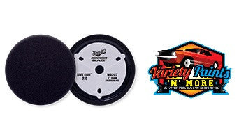 Meguiars 180mm Soft Buff Hookit Foam Finishing Pad BLACK