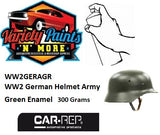 WW2 German Army Helmet Green MATT Enamel Touch Up Paint 300 Grams