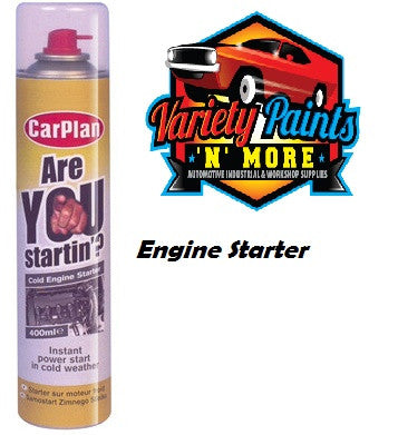 CarPlan 'Are You Startin ' Starting Fluid 400ml