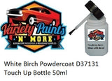 White Birch Powdercoat D37131 Touch Up Bottle 50ml