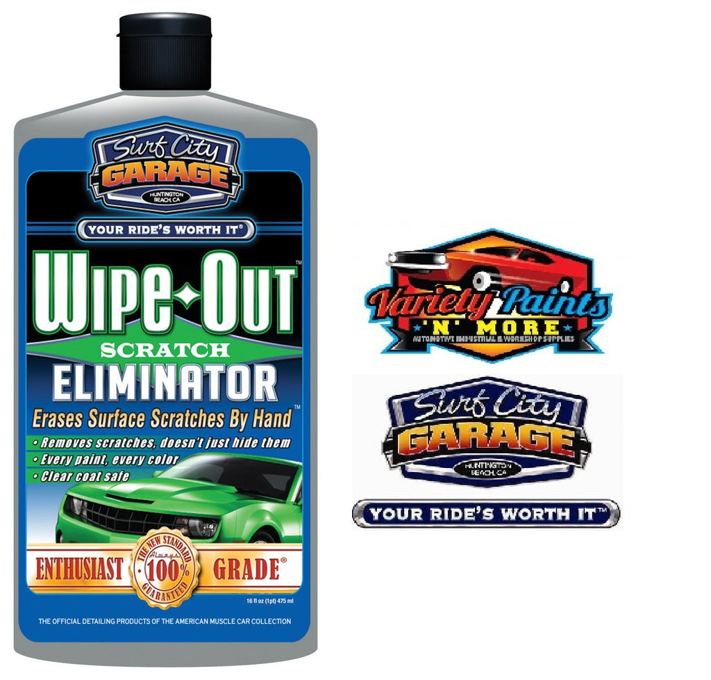 Wipe Out Scratch Eliminator 16oz Surf City Garage