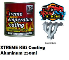 KBS Aluminium Xtreme Temp Paint 250ml VARIETY PAINTS N MORE