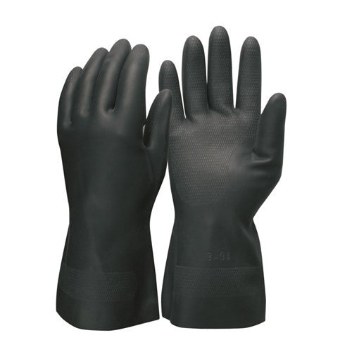 Neoprene Large Chemical Resistant Glove 1 Pair