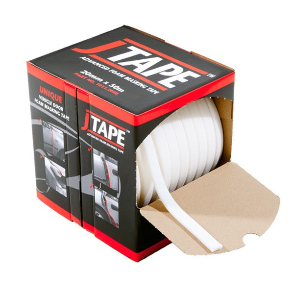 JTape Advanced Foam Masking Tape 20mm x 50 Metres