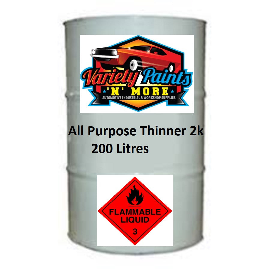 Variety Paints All Purpose 2K Universal Thinner 200 Litre