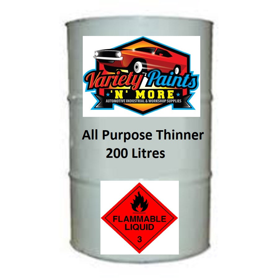 Variety Paints All Purpose Thinners 200 Litre