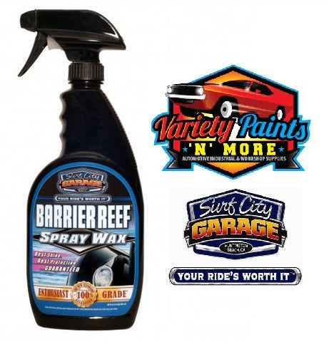 Barrier Reef Carnauba Spray Wax 20oz 591ml Surf City Garage
